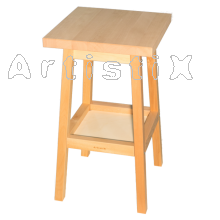 ArtistiX Carving Table tabletop 50x50cm, height 90 cm