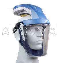 Kite Airhood helmet integrated eyes, face, head and respiratory protection