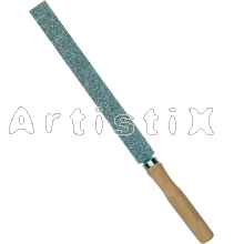 Straight and flat 30cm rasp length, fine grit
