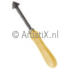 Marble rasp with handle pointed head