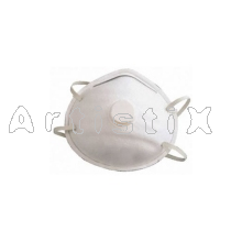 Dust mask with elastic cord  FFP2 with filter
