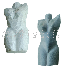Torso - female large ±30cm, unfinished basic shape